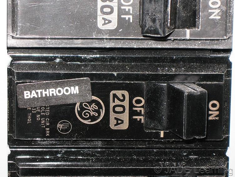 Bathroom branch circuits for Bathroom 20 amp circuit