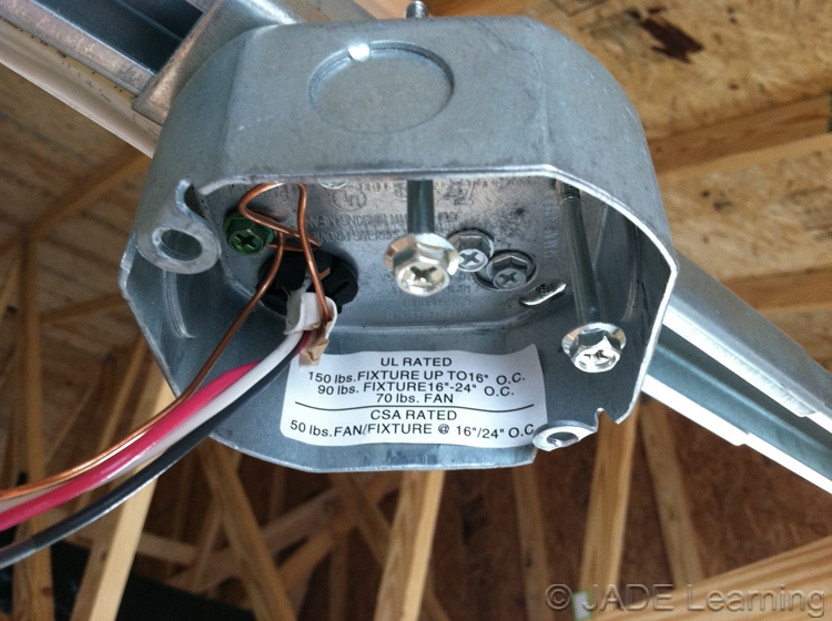 31427c boxes at ceiling suspended paddle fan outlets the requirement for a box listed for support of a ceiling suspended paddle aloadofball Choice Image