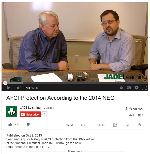 AFCI Protection and the NEC