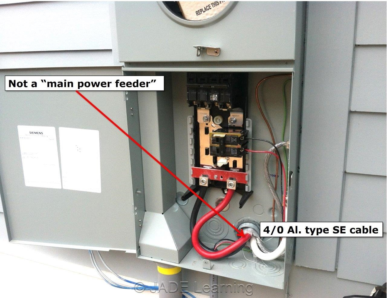 House circuit breaker panel diagram