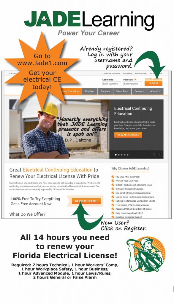Renew your Florida Electrical Contractors License in 3 Easy Steps ...