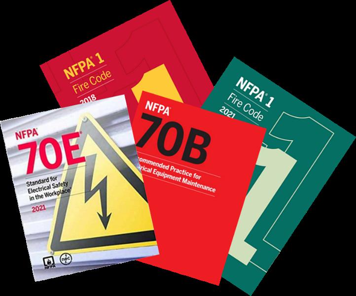 Hard copy NFPA books